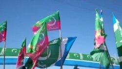 کوټه: د تحریک انصاف په مشرۍ د ناټو رسد ګاډو پر ضد احتجاج