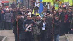 Рівненщина попрощалася із захисником Донецького аеропорту Василем Жуком