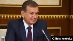 Өзбекстан президенті Шавкат Мирзияев.