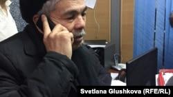 Живущий в Астане гражданский активист Кайырлы Омар, член объединения «Алаш жолы», регистрация которого отозвана властями.