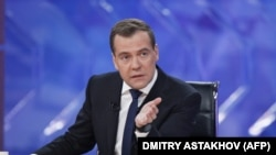 Dmitry Medvedev, December 2012.