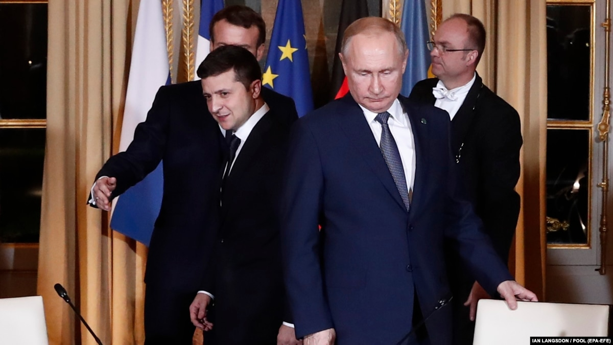 Зеленский и Путин по телефону поздравили друг друга с обменом, соглашением о транзите и праздниками – ОП