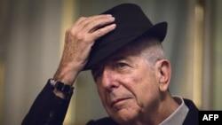 Kanada şairi və müğənnisi Leonard Cohen, 2012-ci il.