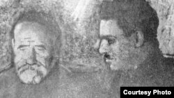 Садриддин Айни и Шириншо Шотемур