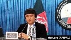 مهدی روحانی سخنگوی وزارت فواید عامه افغانستان