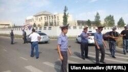 Sa mesta eksplozije, Biškek