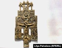 Старинная икона, найденная в селе Толмачево