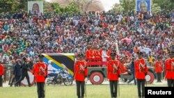 Танзания президенті Джон Магуфулиді жерлеу рәсімі.