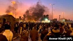 ناآرامی در شهر نجف، عراق