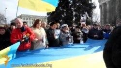 Донецький Євромайдан вшанував пам'ять загиблих активістів у Києві та утворив Народну раду