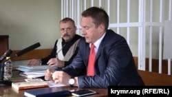 Экс-депутат Верховной Рады АРК Василий Ганыш и адвокат Андрей Руденко