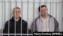Обвиняемые Василий Крутько и Виктор Жданов
