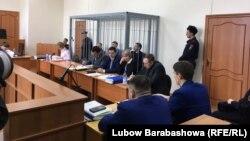 Судебное заседание по делу экс-губернатора Сахалинской области Александра Хорошавина