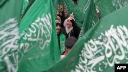 Демонстрація прихильників «Хамасу», архівне фото
