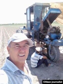 Шовотлик фермер Неъмат Ишчанов