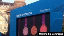 Медали Лондонской Олимпиады