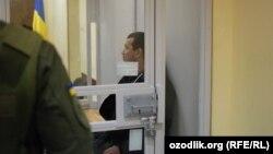 Акбарали Абдуллаев в зале Соломенского районного суда. Киев, 6 февраля 2017 года.