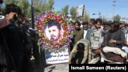 General Abdul Raziq was buried in Kandahar on October 19.
