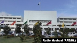 FILE: Pakistani federal parliament building in Islamabad.
