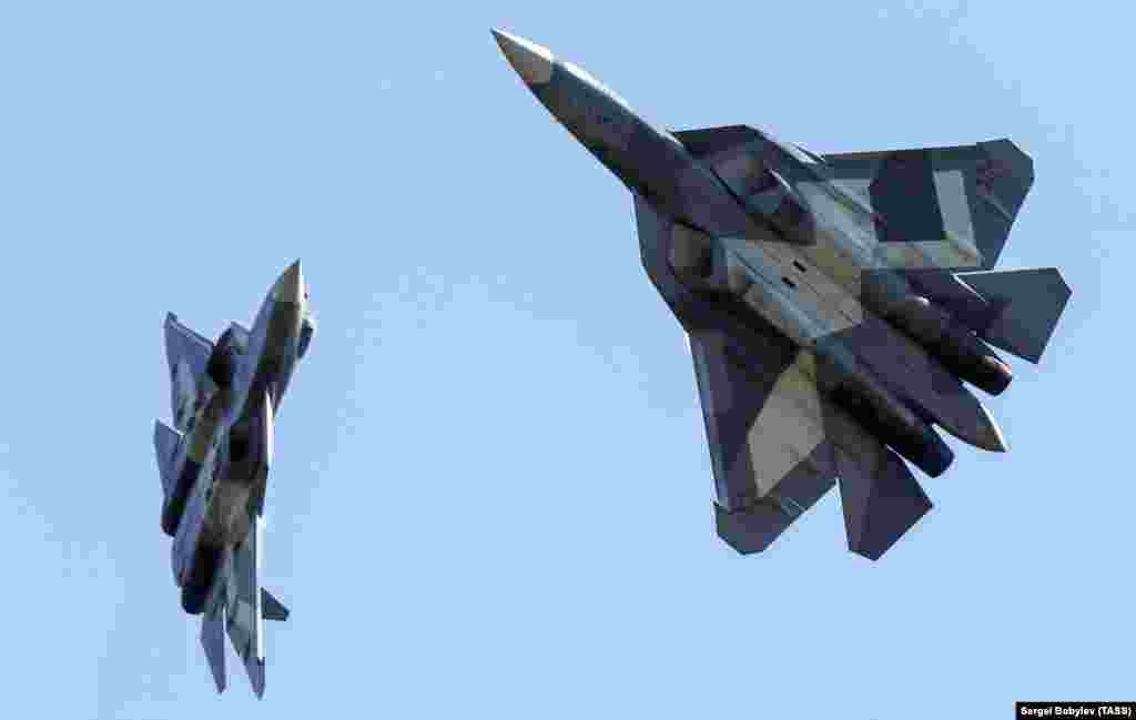 Ten of the planes have been built, but after India quit the project, the goal of having 150 SU-57s in active service by 2020 looks nearly impossible, meaning the world now has just three fifth-generation fighter planes ready to dogfight.