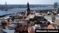 Центр Риги, столицы Латвии.