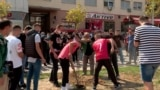 Marš u čast žrtvama požara u COVID bolnici u Tetovu