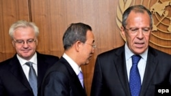 Шефот на руската дипломатија Сергеј Лавров во Њујорк