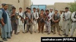 Этнические туркмены, проживающие на севере Афганистана.