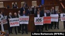 Socialiștii în Parlament în noiembrie 2015...