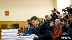 Теперь любой присутствующий в зале суда на процессе Ходорковского и Лебедева может оказаться персонажем комикса