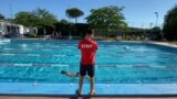 Italy: Italy opened the pools