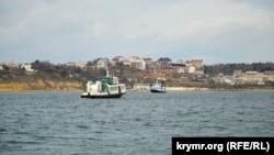 Пассажирские катера в Севастопольской бухте, иллюстрационное фото