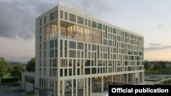 Проект строительства гостиницы Novotel в Бишкеке