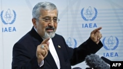 Iran's envoy to the International Atomic Energy Agency (IAEA), Ali Asghar Soltanieh. (file photo)