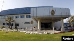 Седиштето на Ал Џазеира во Доха во Катар.