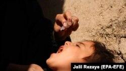 آرشیف، واکسین پولیو در افغانستان
