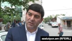 Armenia - Davit Hambardsumyan, Mayor of Masis, Yerevan, 2 Jun, 2018