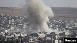 La Kobani în Siria