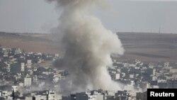 Бої у сирійському місті Кобані тривають, 10 жовтня 2014