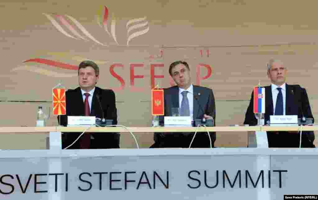 Samit Procesa saradnje u Jugoistočnoj Evropi, Sv. Stefan, 30. juni 2011, Fotografije Savo Prelević