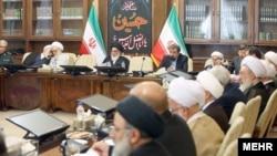 A session of Iran's Expediency Discernment Council, on Saturday October 07, 2017.