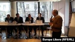 Andrei Bargan la dezbaterea de la CJI