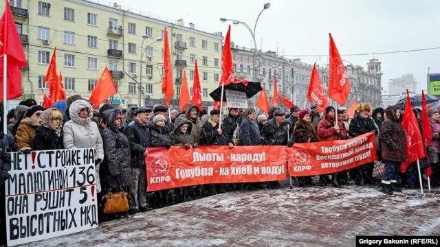Ростов-на-Дону: жители требуют вернуть право на бесплатный проезд для ветеранов, 6 февраля 2016