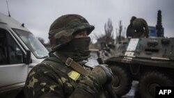 Українські військовослужбовці у Дебальцеві. 3 лютого 2015 року