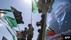 شماری از هواداران حماس در نوار غزه