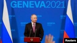 Пресс-конференция Владимира Путина, Женева, 16 июня 2021 года