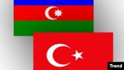 Թուրքիայի և Ադրբեջանի դրոշները
