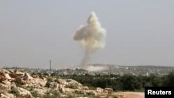 Pamje nga luftimet në Siri