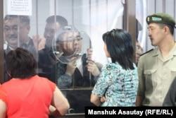 На суде по «Хоргосскому делу». Алматы, 20 июня 2013 года.