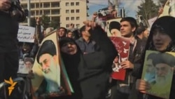 Progovernment 'Day of Hate' Held In Iran